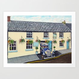 The Borderers - Brecon & Zapp Family Art Print