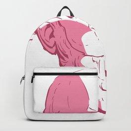 Epictetus philosopher statue Backpack