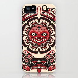 Sisiutl - The Two Headed Serpent iPhone Case