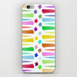 Rainbow Stripes iPhone Skin