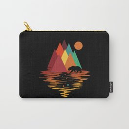 Geometric Space Mountains Carry-All Pouch
