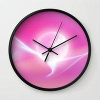 globe Wall Clocks featuring Snow Globe by Digital-Art