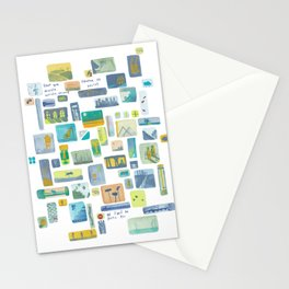 """Storyboard """"pour que demain existe encore"""" Stationery Cards"""