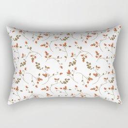 Rosehips Rectangular Pillow