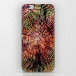 Nature Flow - Modern Pastel Alcohol Ink Wood iPhone Skin