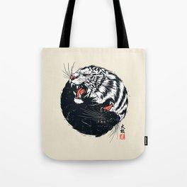 Taichi Tiger Tote Bag