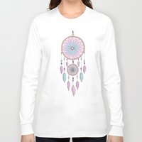 dream catcher Long Sleeve T-shirts featuring Dream Catcher by haleyivers
