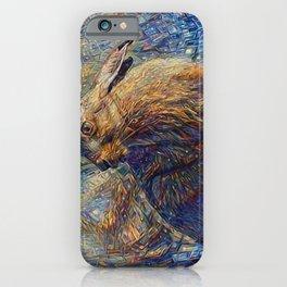 Hare Raising iPhone Case