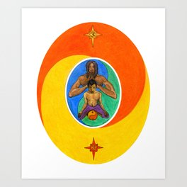Meditatio Art Print