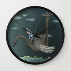 The Flying Machine Wall Clock