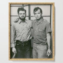 Allen Ginsberg and Jack Kerouac Serving Tray