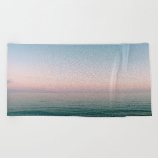 Pastel Ocean III Beach Towel
