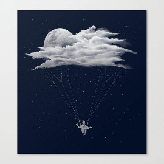 Skydiving Canvas Print