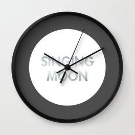 Singing Moon (Celtic) Wall Clock