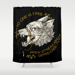 Resist Shower Curtain