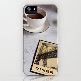 New York Diner iPhone Case
