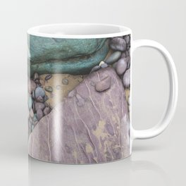 Green and Purple Beach Coffee Mug
