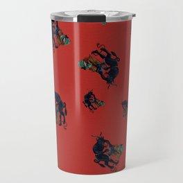 The Krampus - an Austrian Legendary Figure Travel Mug