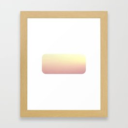 Abstract #20 (Untitled Set 1) Framed Art Print