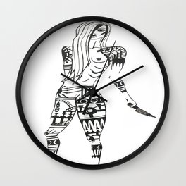armed one of three  Wall Clock