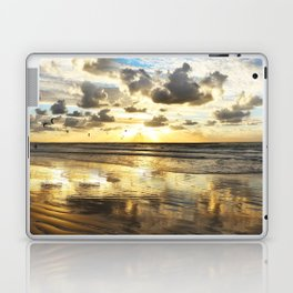Golden Surf Sunrise Laptop & iPad Skin