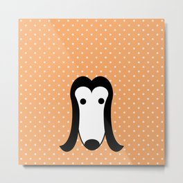 Pop Dog Afghan Hound Metal Print