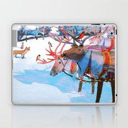 Reindeers and friends Laptop & iPad Skin