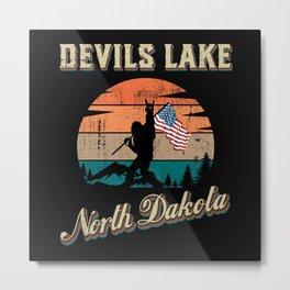 Devils Lake North Dakota Metal Print