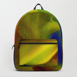 Manifestation in Yellow Backpack