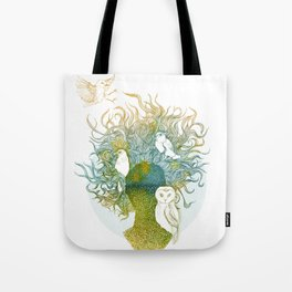 Spring birds Tote Bag