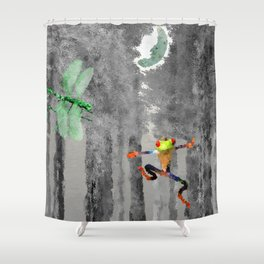 Forest of Giants Shower Curtain
