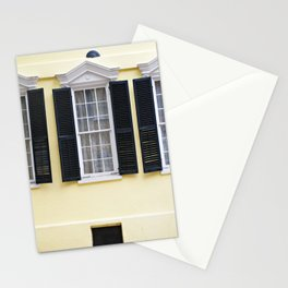 Sunny Charleston Windows Stationery Cards