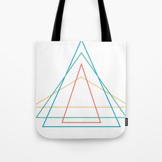 4 triangles Tote Bag