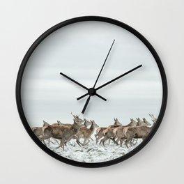First Snow (52) Wall Clock