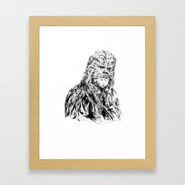 Wookie Framed Art Print
