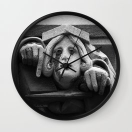 Creepy Crier Wall Clock