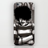 phil jones iPhone & iPod Skins featuring Phil Lynott by Denis O'Sullivan