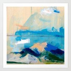 Blue Shadow (San Luis Valley) Art Print