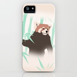Smag the Red Panda iPhone Case
