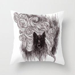 Terror Throw Pillow