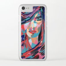 Psychedelic Jane Clear iPhone Case