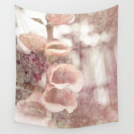 by the garden wall Wall Tapestry