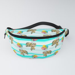 sloths in the air Fanny Pack