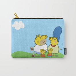 The Peppa Simpson Family Carry-All Pouch