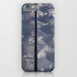 Snow #tracks iPhone Case