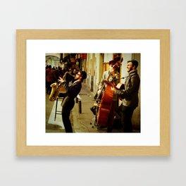 Saxy & You Know It Framed Art Print