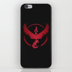 Team Valor Sparkly red sparkles iPhone & iPod Skin