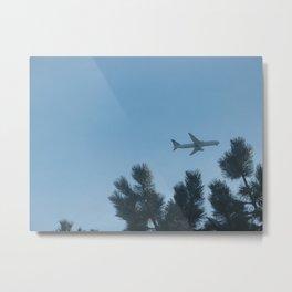 Fly the Friendly Skies Metal Print