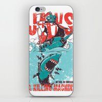 jaws iPhone & iPod Skins featuring Jaws by Tshirt-Factory