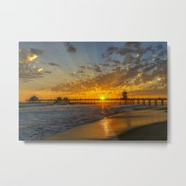 Clouds for a Sunset Metal Print